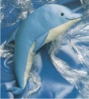 Сшить мягкую игрушку дельфина 47